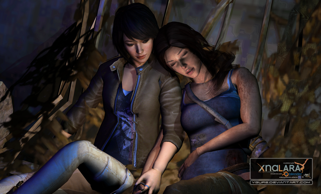 Lara and Sam by Ygure